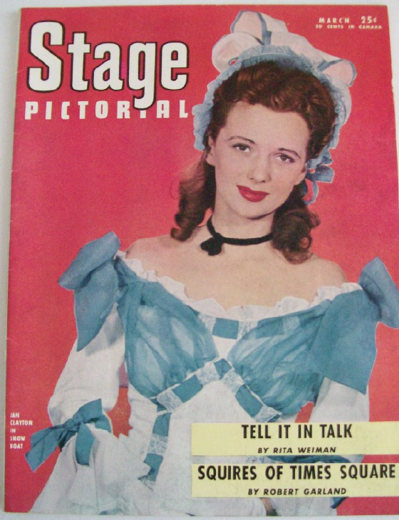 March 1946 Stage Pictorial Magazine - Black Performers